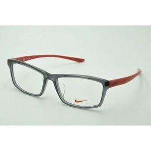 NEW Nike NK 7919 AF Eyeglasses 030 Dark Gray Frame